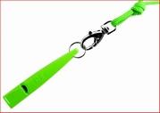 Fluit 211,5 NEON groen met koord in dezelfde kleur